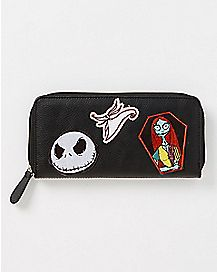 Nightmare Before Christmas Zip Wallet