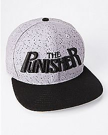 Punisher Snapback Hat - Marvel Comics