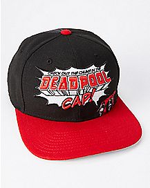 Check Out This Chump Deadpool Snapback Hat