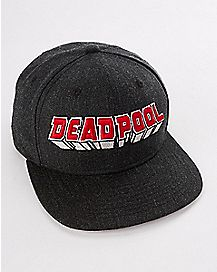Logo Deadpool Snapback Hat - Marvel Comics