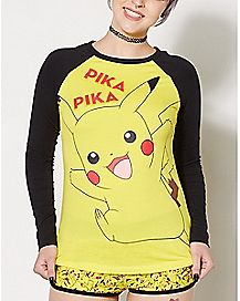 Pikachu Pokemon Pajama Set
