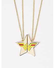 Wonder Woman BFF Necklace - DC Comics