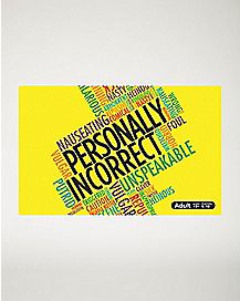 Personally Incorrect Card Game Second Expansion Pack