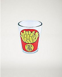 Fries Before Guys Shot Glass - 1.5 oz
