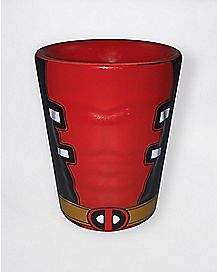 Deadpool Molded Shot Glass - Marvel Comics