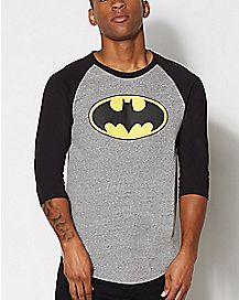 DC Comics Batman Raglan T Shirt