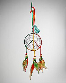 Peace Rasta Dream Catcher