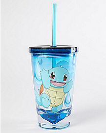 Squirtle Pokemon Cup with Straw - 19 oz.
