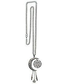 Moon Dream Catcher Necklace
