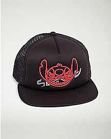 Lilo & Stitch Neff Trucker Hat - Black