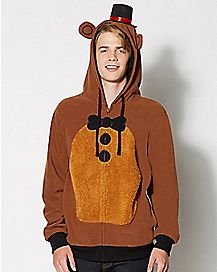 3D Freddy Five Nights At Freddy's Hoodie