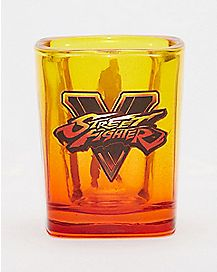 Street Fighter Shot Glass - 1.5 oz.