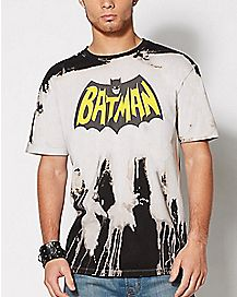 Batman Tie Dye T Shirt - DC Comics