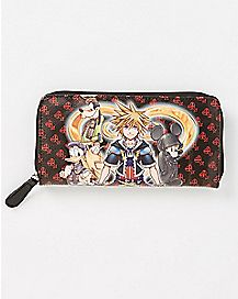 Kingdom Hearts Zip Wallet