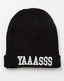 Yaaasss Beanie Hat