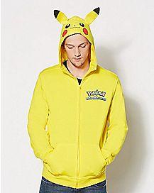 Pikachu Pokemon Hoodie