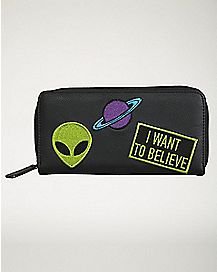 I Want To Believe Alien Wallet