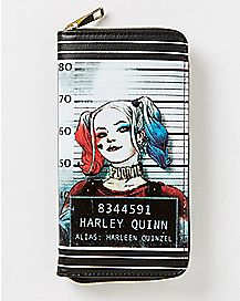 Mug Shot Harley Quinn Zipper Wallet