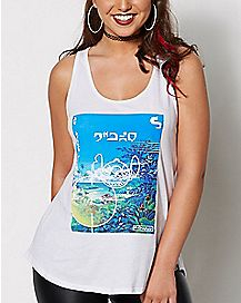 Lilo & Stitch Neff Location Tank Top