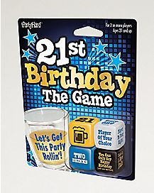 21st Birthday Dice Drinking Game