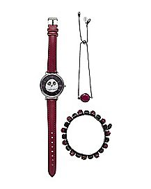 Jack Nightmare Before Christmas Jewelry Set