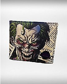 Joker Escaped Bifold Wallet - DC Comics