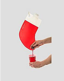 Holiday Hangover Santa's Stocking Flask