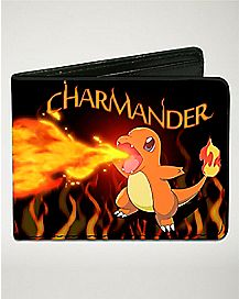 Charmander Pokemon Bifold Wallet