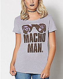 Macho Man WWE T Shirt