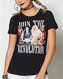 Join the Revolution WWE T Shirt