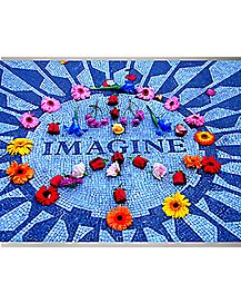 Imagine Blacklight Poster