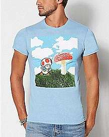 Toad Super Mario Mushroom T Shirt