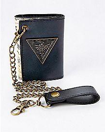 Map and Chain Legend of Zelda Bifold Wallet
