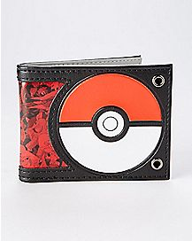 Pokeball Mega Evolutions Pokemon Bifold Wallet