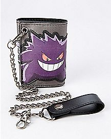 Gengar Pokemon Chain Wallet
