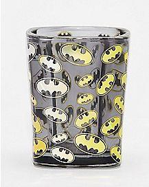 Gold Emblem Batman Shot Glass 1.5 oz. - DC Comics