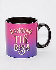Banging the Boss Mug  22 oz