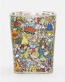 90's Nickelodeon Shot Glass - 1.5 oz.