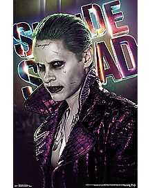 Joker Suicide Squad Movie Poster - DC Comics
