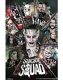 Group Suicide Squad Poster