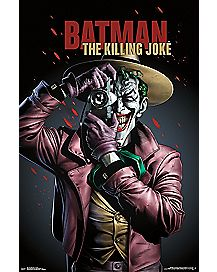 The Joker Killing Joke Batman Poster