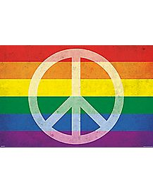 Pride and Peace Poster