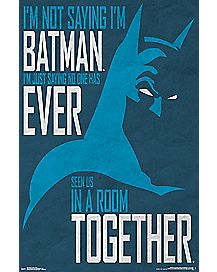 Secret Identity Batman Poster
