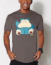 Snorlax Pokemon T Shirt