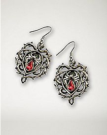 Thorn Spider Earrings