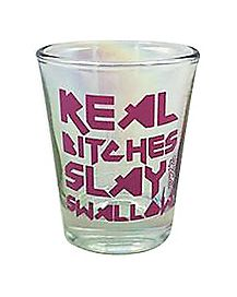 Slay and Swallow Shot Glass - 1.5 oz.