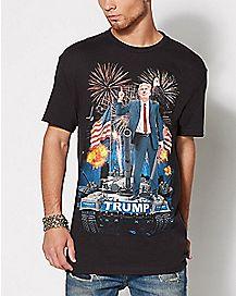 Tank Brigade Trump T Shirt