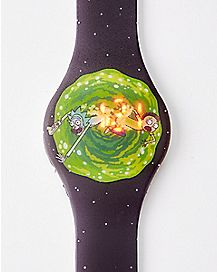 Time Swirl Rick and Morty LED Watch