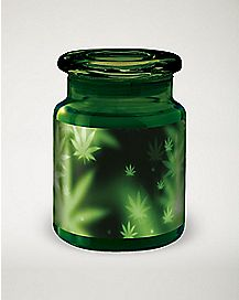 Blur Pot Leaf Storage Jar - 6 oz