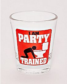 Party Trained Shot Glass - 1.5 oz.